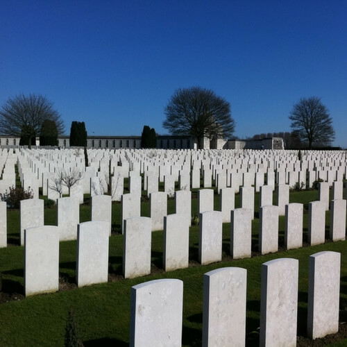Battlefields tours to France and Belgium