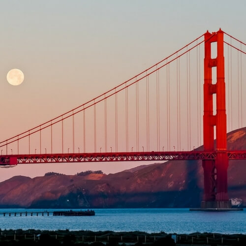 Golden Gate Bridge, Educational Tours to USA, School Tours to US